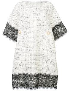 платье с декоративными пуговицами Faith Connexion