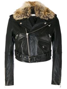 байкерская куртка с отделкой из искусственного меха Faith Connexion