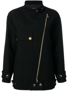 свободное байкерское пальто  Boutique Moschino