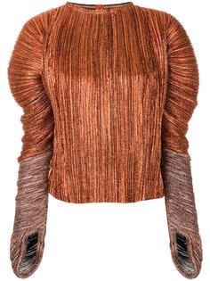 плиссированная блузка Haider Ackermann