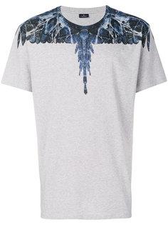 футболка с принтом крыльев Marcelo Burlon County Of Milan