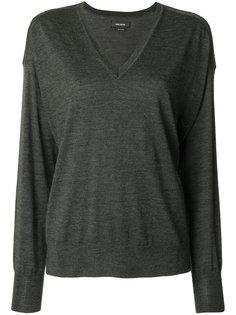 пуловер с V-образным вырезом Alford Isabel Marant