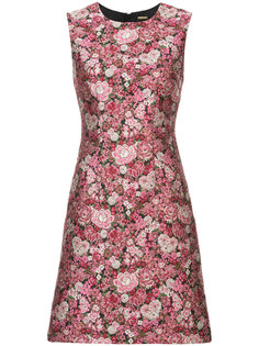 Floral brocade sheath dress Adam Lippes