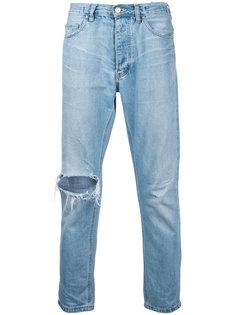 укороченные узкие джинсы Ex Infinitas