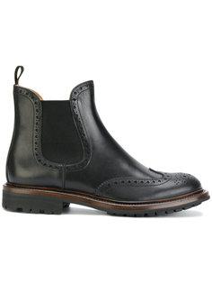 ботинки на низком каблуке без застежки  Churchs