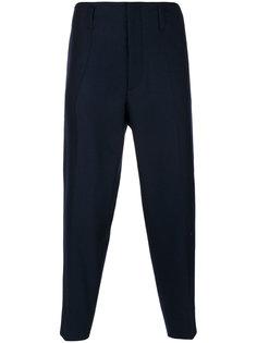 зауженные укороченные брюки Marni