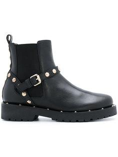 ботинки-челси с отделкой заклепками Twin-Set