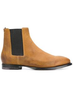 ботинки с контрастными вставками Buttero