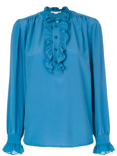 блузка с оборкой Stella McCartney