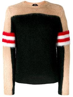 "свитер дизайна ""колор-блок"" Nº21"