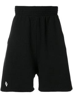 спортивные брюки с вышитым логотипом Marcelo Burlon County Of Milan