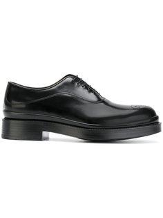 туфли на шнуровке Prada