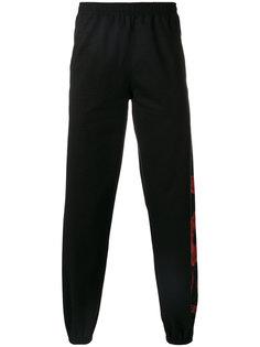 спортивные брюки с принтом Marcelo Burlon County Of Milan