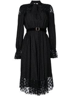 платье в пейзанском стиле с завязками Philosophy Di Lorenzo Serafini