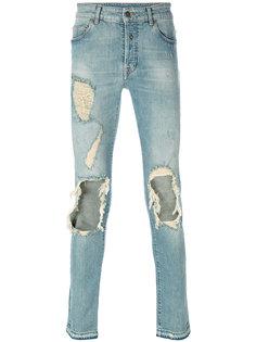 джинсы кроя слим Pecho  Marcelo Burlon County Of Milan