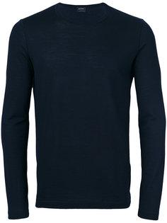 свитер с круглым вырезом под горло Jil Sander