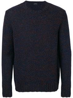 вязаный свитер с круглым вырезом Jil Sander