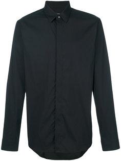 рубашка с потайной застежкой на пуговицы Jil Sander