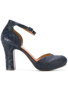 туфли-лодочки на платформе с вышивкой Chie Mihara