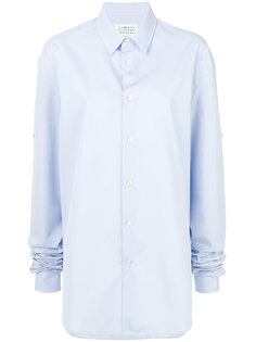 рубашка с удлиненными рукавами  Maison Margiela