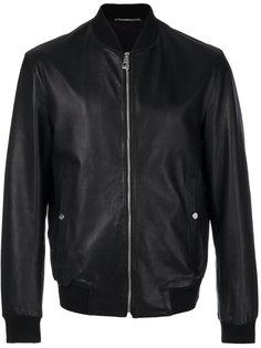 куртка-бомбер на молнии Versace Collection