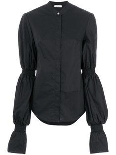 блузка с объемными длинными рукавами Dondup