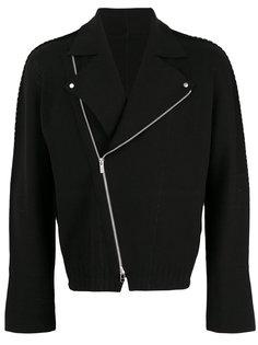 байкерская куртка Issey Miyake