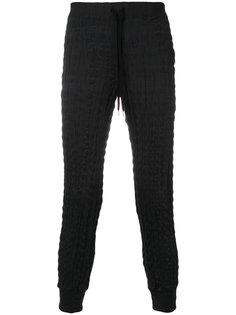 плиссированные спортивные брюки Issey Miyake
