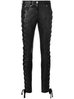 брюки скинни на шнуровке Zayn X Versus Versus