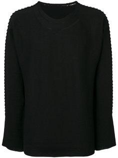 текстурный свитер Issey Miyake