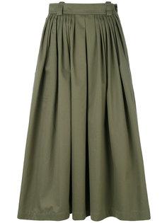пышная юбка длины миди Golden Goose Deluxe Brand
