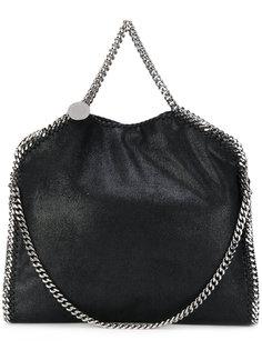 сумка-тоут на серебристой цепочной лямке Stella McCartney