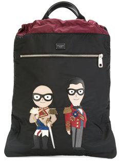 рюкзак с дизайнерской нашивкой Dolce & Gabbana