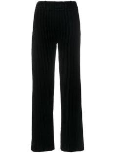 брюки с лампасами колор-блок Mira Mikati