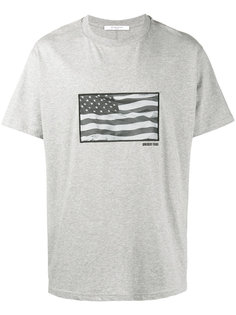 футболка с принтом в виде флага Givenchy