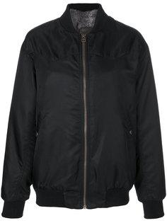 куртка-бомбер на молнии Mr & Mrs Italy