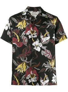 рубашка в гавайском стиле с цветочным рисунком Wacko Maria