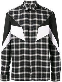 клетчатая рубашка Modernist Neil Barrett