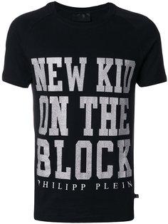 футболка с принтом new kid on the block Philipp Plein
