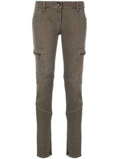 зауженные джинсы карго Armani Jeans