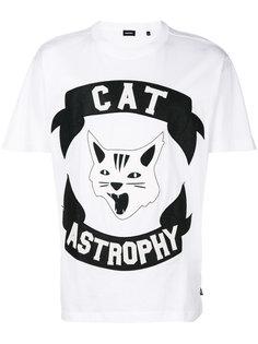 футболка с принтом Cat Astrophe Diesel