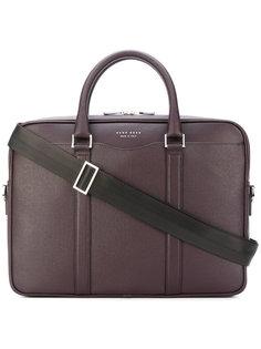 сумка для ноутбука с клеймом логотипа Boss Hugo Boss
