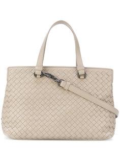 сумка-тоут с отделкой intrecciato Bottega Veneta