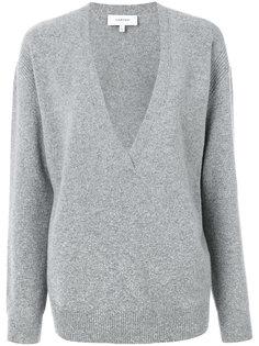 свитер с V-образным вырезом  Carven