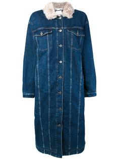 свободное джинсовое пальто Stella McCartney