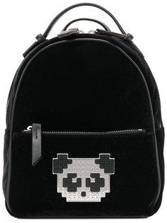 рюкзак с нашивкой-пандой из пикселей Les Petits Joueurs