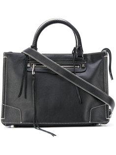 сумка-тоут с контрастной строчкой  Rebecca Minkoff