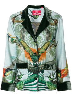 пиджак с изображением леса и птиц F.R.S For Restless Sleepers