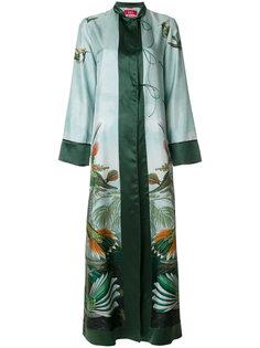 платье-кимоно с птицами F.R.S For Restless Sleepers