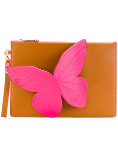 клатч с бабочкой Sophia Webster